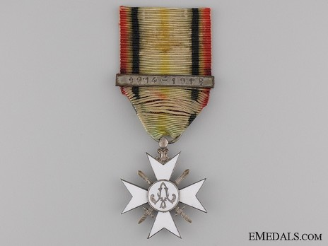 """II Class Cross (with """"1914-1918"""" clasp) Obverse"""