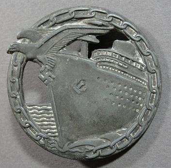 Blockade Runner Badge, by R. Souval Obverse