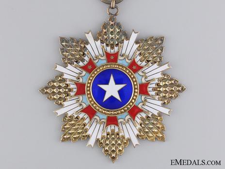 Order of the Brilliant Star, I Class Sash Badge Obverse