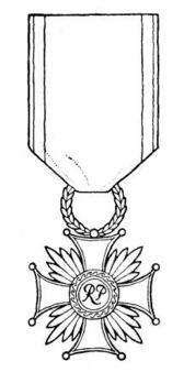 Cross of Merit, I Class Obverse