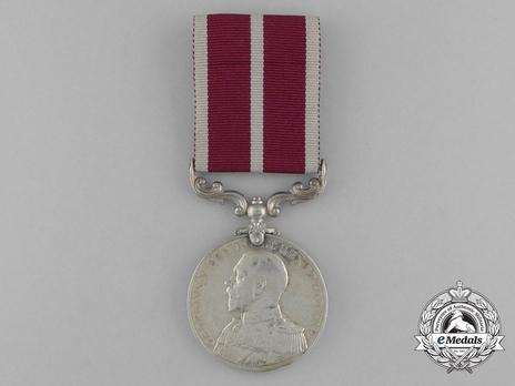 Silver Medal (uncrowned King George V effigy) Obverse