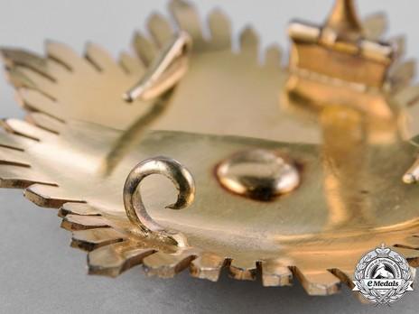 Order of Solomon's Seal, Grand Cross Breast Star Reverse Detail