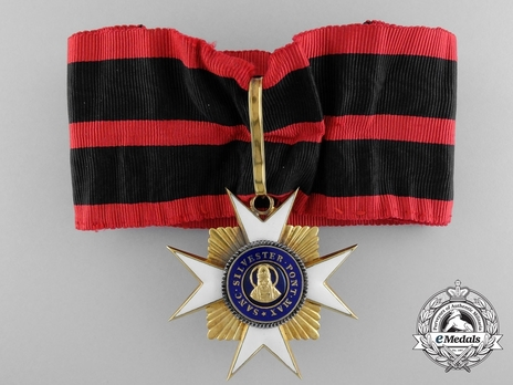 Order of St. Sylvester Grand Officer (with gold) Obverse