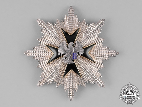 Order of the Eagle Cross, II Class Breast Star