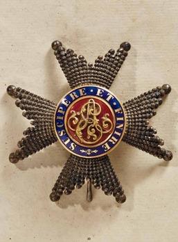 Order of Ernst August, Commander Breast Star