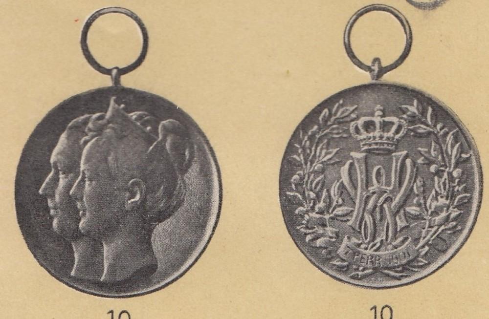 Netherlands%2c++wedding+medal+%281901%29%2c+in+silver