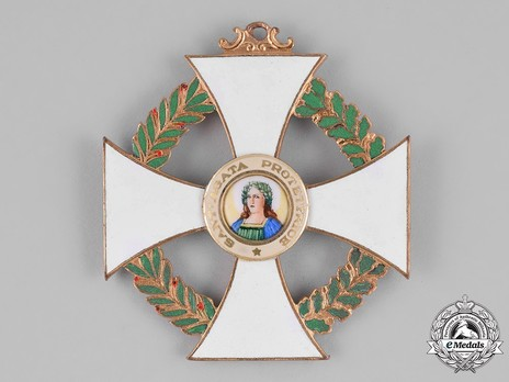 Order of St Agatha, Grand Cross Obverse