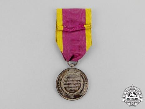 Medal for 1000 Volunteers, in Silver Reverse