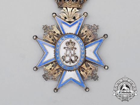 Order of Saint Sava, Type I, III Class Breast Star Reverse