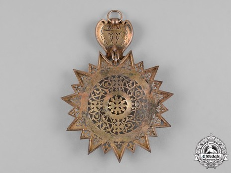Order of the Star of Ethiopia, Grand Cross Reverse