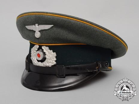German Army Cavalry NCO/EM's Visor Cap Profile