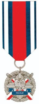 Medal for Police Merit, II Class Obverse