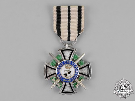House Order of Hohenzollern, Type II, Military Division, III Class Honour Cross (1866-1918)