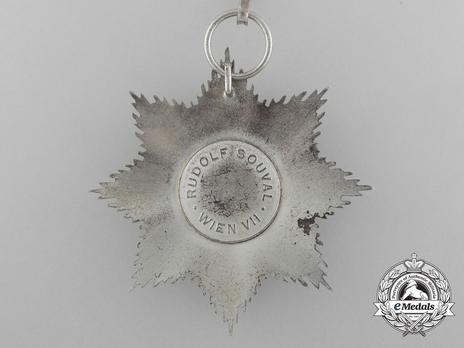 Grand Star (for noncombatant service, without swords) Reverse