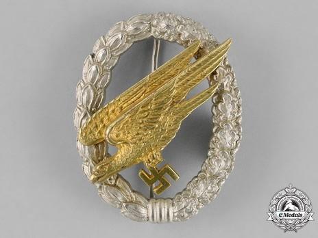 Luftwaffe Paratrooper Badge, by Jmme Obverse