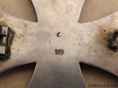 Iron Cross I Class, by A. Rettenmaier (L 59) Detail