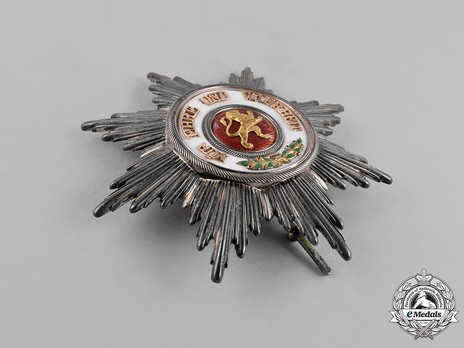 Grand Cross Breast Star (in silver and gold) Obverse