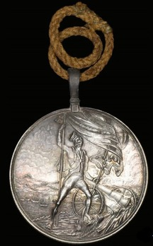 Medal for the Capture of Rodrigues, the Isle of Bourbon, and the Isle of France, Silver Medal