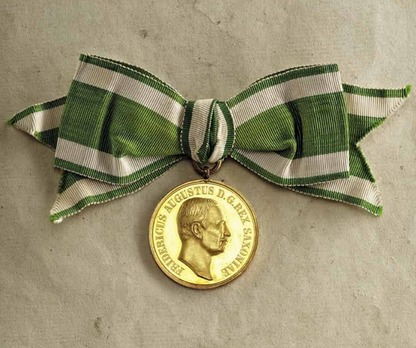 """Medal for Art and Science """"VIRTUTI ET INGENIO"""", Type IX, in Small Gold"""
