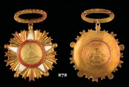 Gold Star Obverse and Reverse