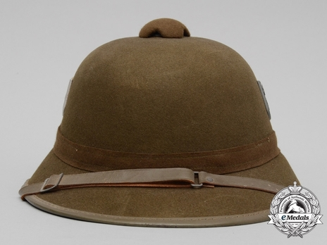 German Army Pith Helmet (2nd version) Front