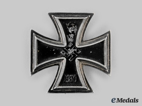 Iron Cross I Class, by R. Souval (unmarked, magnetic) Obverse