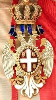 Order of the White Eagle, Type I, Civil Division, II Class Obverse