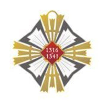 Order of Gediminas, Grand Commander's Cross Reverse