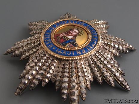 Order of the Redeemer, Type II, Grand Cross Breast Star