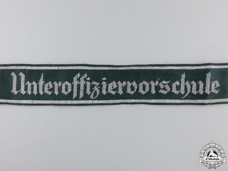 German Army Unteroffiziervorschule Cuff Title Obverse Detail 1