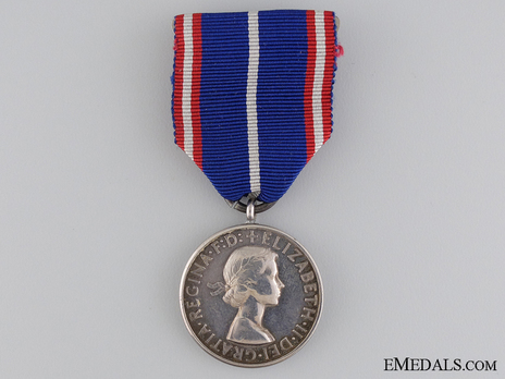 Royal Victorian Medal, in Silver (Victoria) Obverse