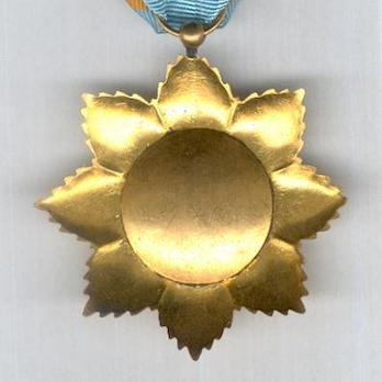 Order of the Star of Anjouan, Knight Reverse