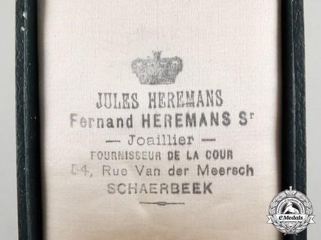 A Belgian Order of the Crown, Officer by JULES HEREMANS Sr SCHAERBEEK