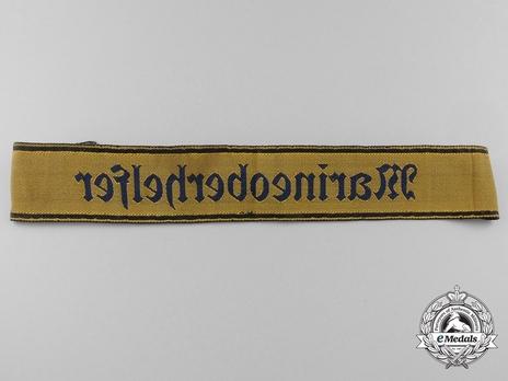 HJ Kriegsmarine Senior War Auxiliary Cuff Title Reverse