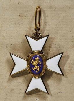 Schwarzburg Duchy Honour Cross, Civil Division, I Class Honour Cross (1857-1918)