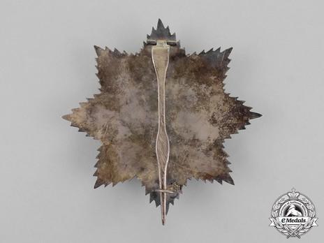 Order of Noble Bukhara, II Class, III Grade Reverse