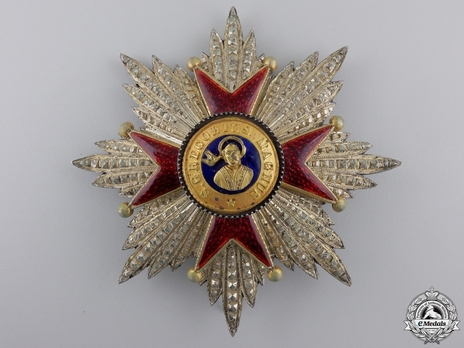 Grand Cross Breast Star (with silver and silver-gilt) Obverse