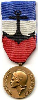 Bronze Medal (Navy) Obverse