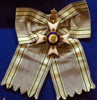 Order of Sidonia, Grand Cross (on the scarf)