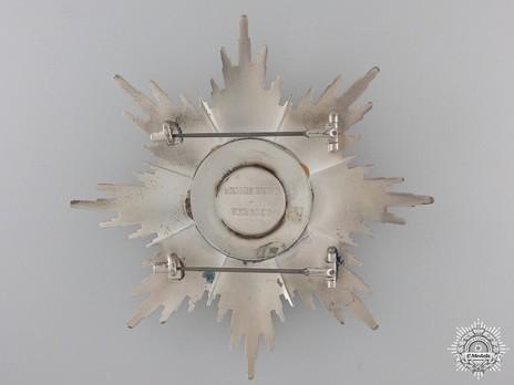 Grand Cross Breast Star (Civil Division) Reverse