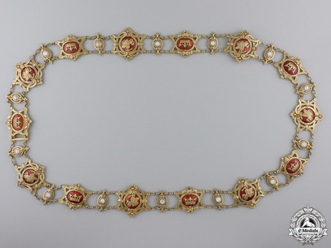 Gold Collar (in silver gilt) Obverse