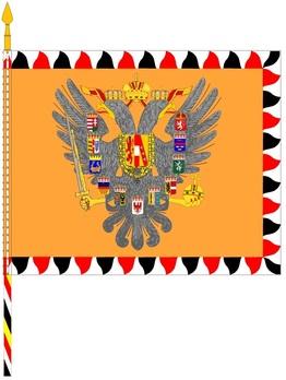 German Army Hoch- und Deutschmeister Flag Obverse
