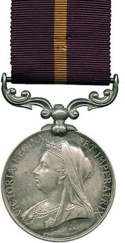 Silver Medal (for Cape of Good Hope, with Queen Victoria effigy)  Obverse