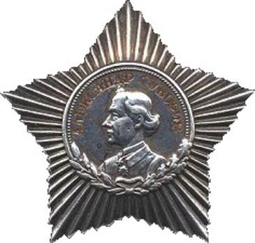 Type II, III Class Medal (in silver)