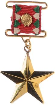 Hero of the Hungarian People's Republic, Gold Star