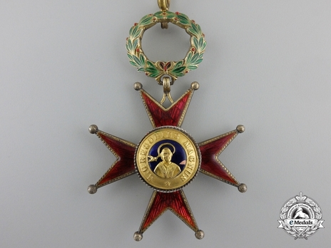 Order of St. George the Great Commander (Civil Division) (with silver-gilt) Obverse