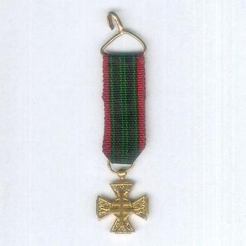Miniature Gold Cross Obverse