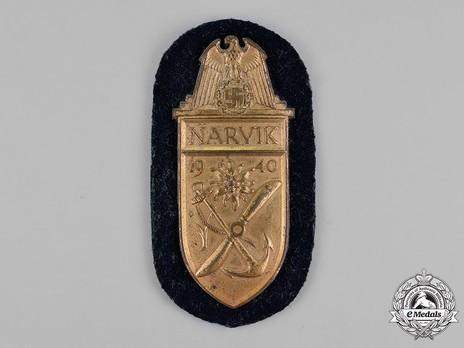 Narvik Shield, Kriegsmarine/Navy Obverse